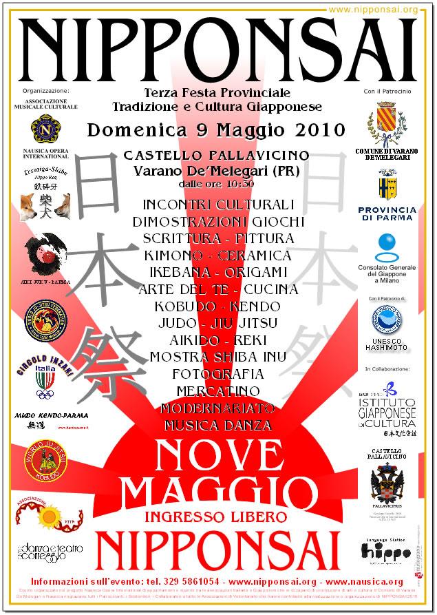 Locandina Nipponsai 2011 a Tizzano Val Parma