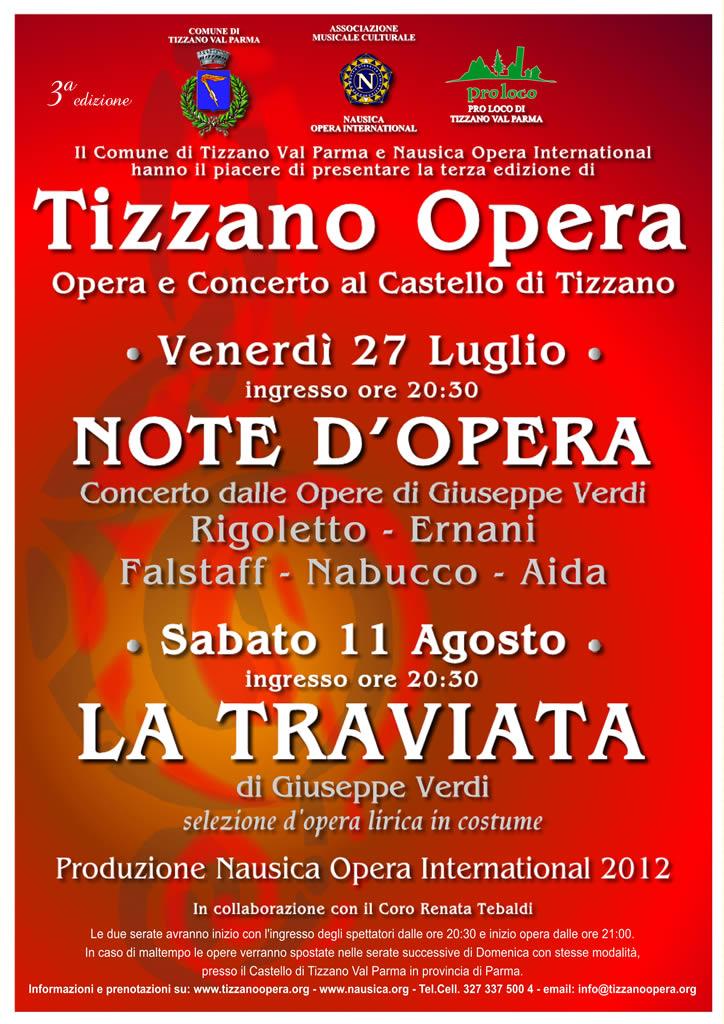 Locandina Tizzano Opera 2012