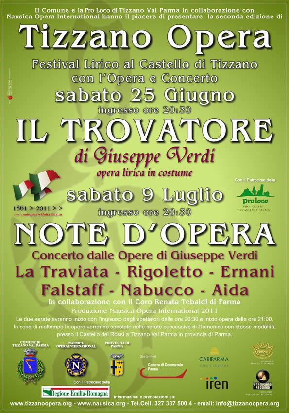 Manifesto Tizzano Opera 2011